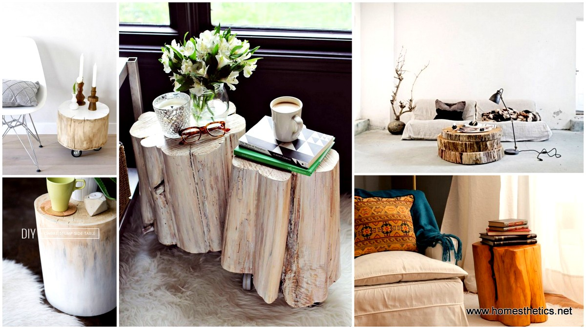 Magical diy tree stump table ideas that will transform for Tree stump table diy