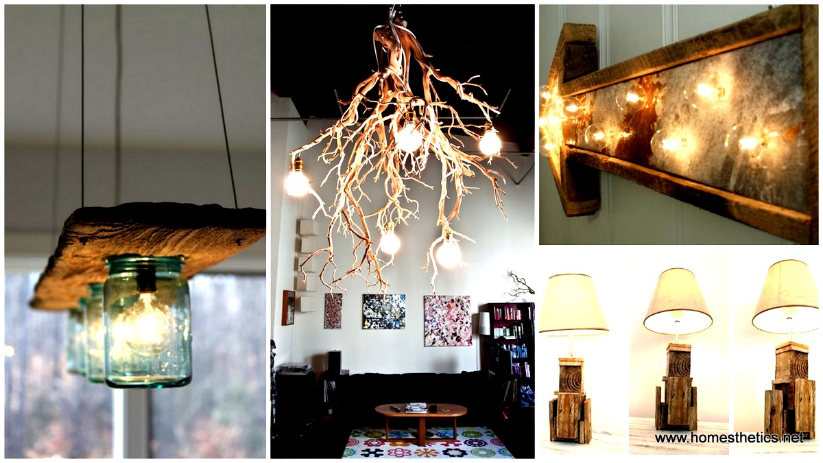 15 Breathtaking DIY Wooden Lamp Projects to Enhance Your Decor With