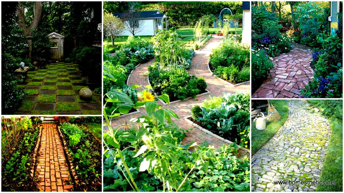41 ingenious and beautiful diy garden path ideas to realize in your backyard - Garden Path Ideas