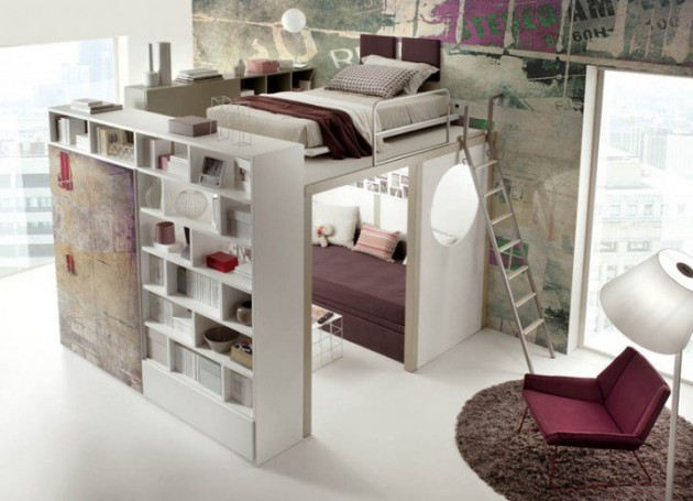 15 Ingeniously Smart and Functinable Bedroom Space Saving Solutions  homestheitcs bed space saving (1)
