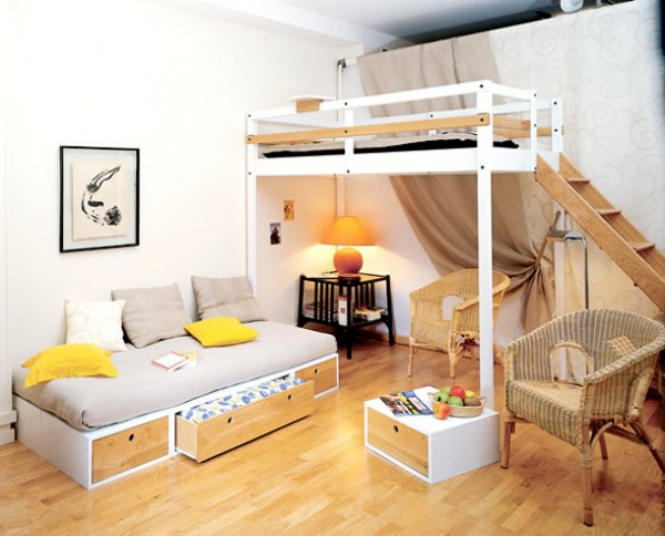 15 Ingeniously Smart and Functinable Bedroom Space Saving Solutions homestheitcs bed space saving (2)