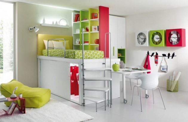 15 Ingeniously Smart and Functinable Bedroom Space Saving Solutions homestheitcs bed space saving (4)