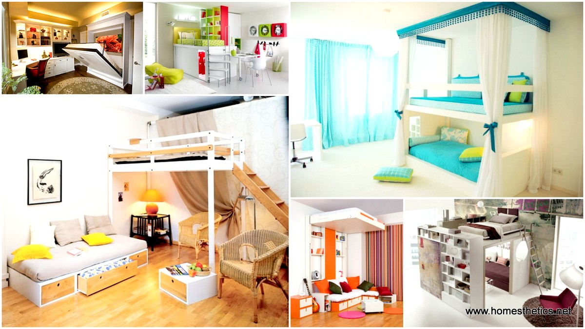 15 ingeniously smart and functionable bedroom space saving