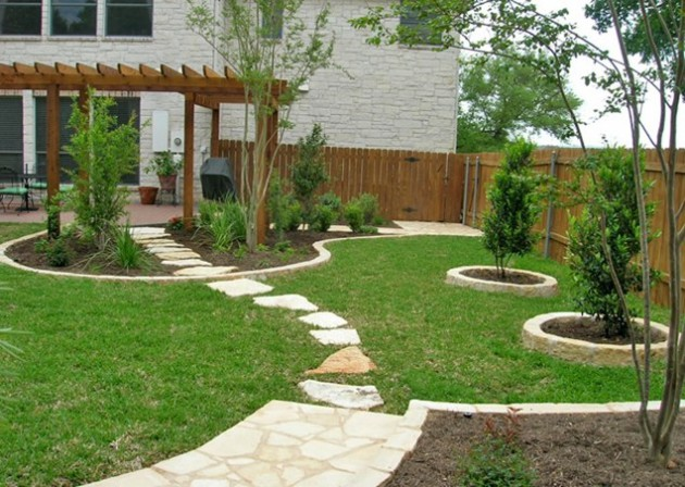 16 Backyard Landscaping Ideas That Will Beautify Your Household Through Simplicity homesthetics design (1)