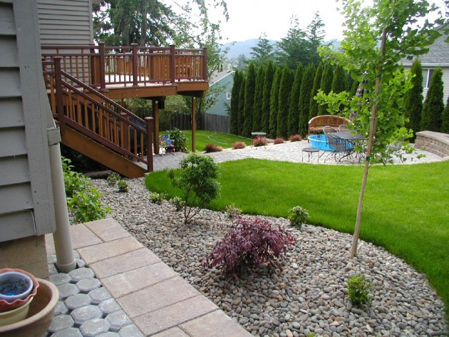 16 Backyard Landscaping Ideas That Will Beautify Your Household Through Simplicity homesthetics design (13)