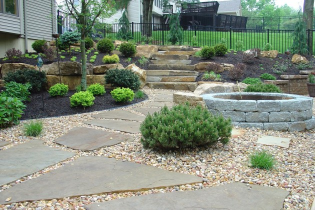 16 Backyard Landscaping Ideas That Will Beautify Your Household Through Simplicity homesthetics design (14)