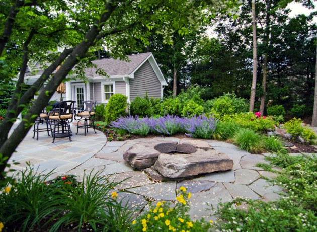 16 Backyard Landscaping Ideas That Will Beautify Your Household Through Simplicity homesthetics design (16)