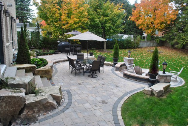 16 Backyard Landscaping Ideas That Will Beautify Your Household Through Simplicity homesthetics design (2)