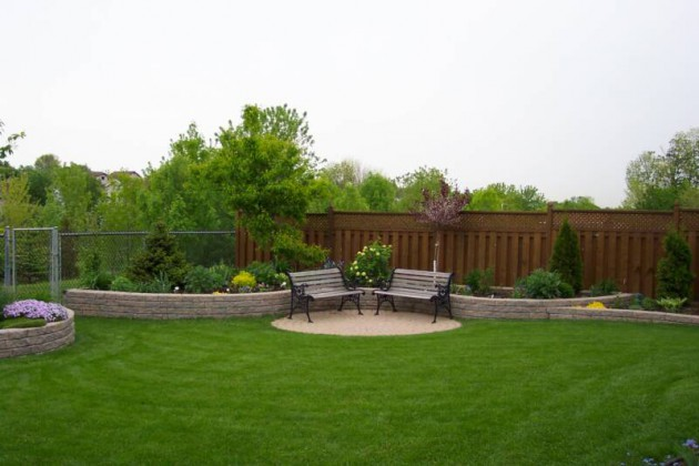 16 Backyard Landscaping Ideas That Will Beautify Your Household Through Simplicity homesthetics design (3)