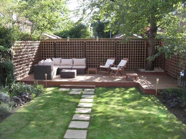 16 Backyard Landscaping Ideas That Will Beautify Your Household Through Simplicity homesthetics design (4)