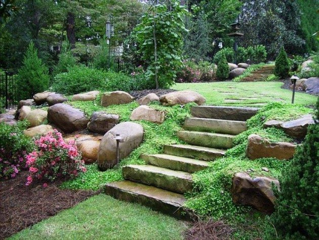 16 Backyard Landscaping Ideas That Will Beautify Your Household Through Simplicity homesthetics design (9)