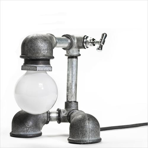 #12 TINY FIXTURE CARRYING SCULPTURAL LIGHT BULB