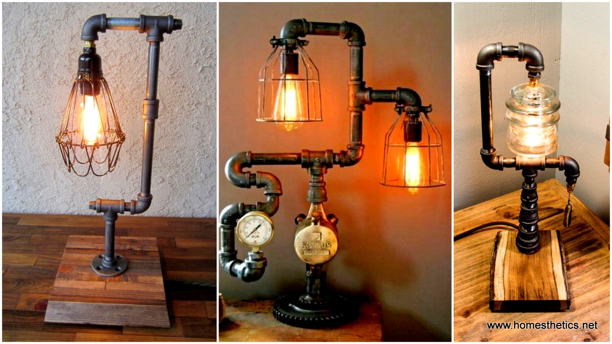 16 sculptural industrial diy pipe lamp design ideas able to 16 sculptural industrial diy pipe lamp design ideas able to transform your decor solutioingenieria Gallery