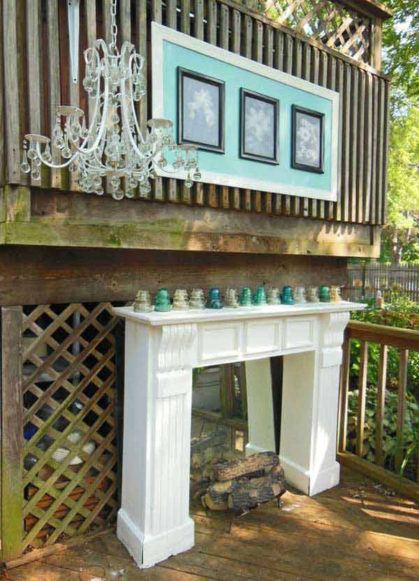 16 Simply Beautiful Ways to Decorate With Mantel Outdoors homesthetics decor (15)