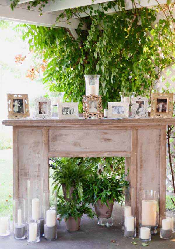 16 Simply Beautiful Ways to Decorate With Mantel Outdoors homesthetics decor (16)