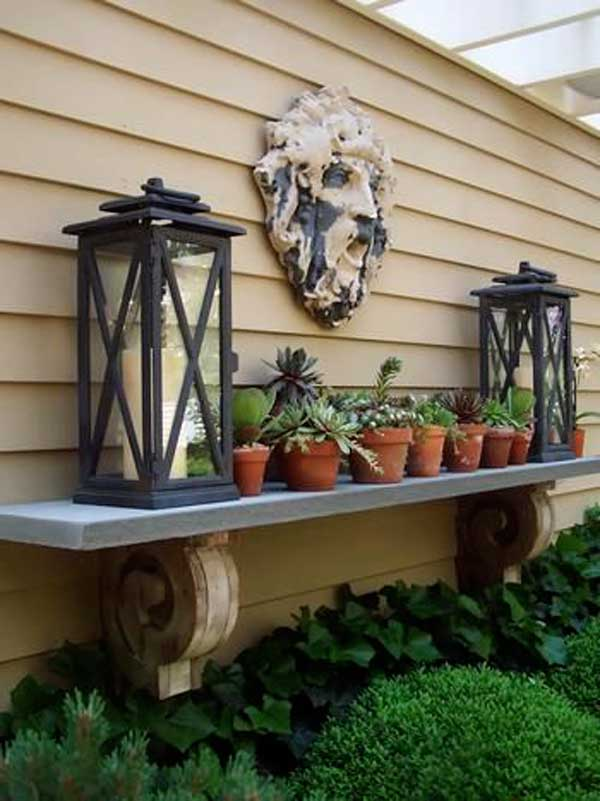 16 Simply Beautiful Ways to Decorate With Mantel Outdoors homesthetics decor (4)