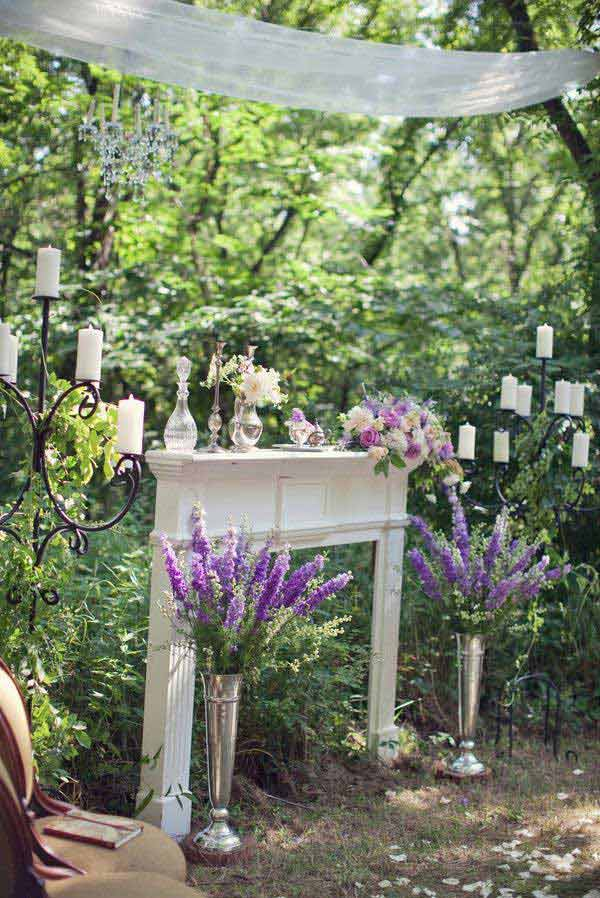 16 Simply Beautiful Ways to Decorate With Mantel Outdoors homesthetics decor (5)