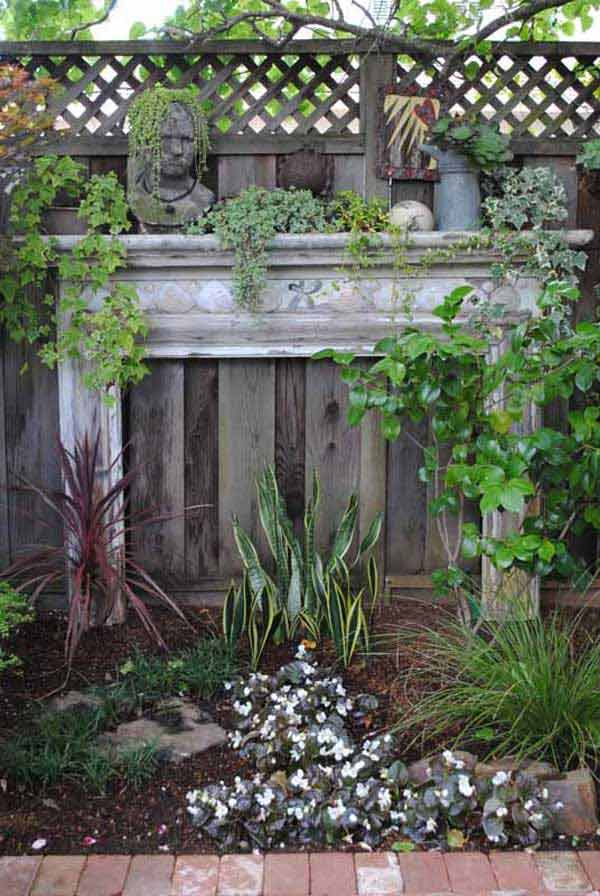 16 Simply Beautiful Ways to Decorate With Mantel Outdoors homesthetics decor (7)