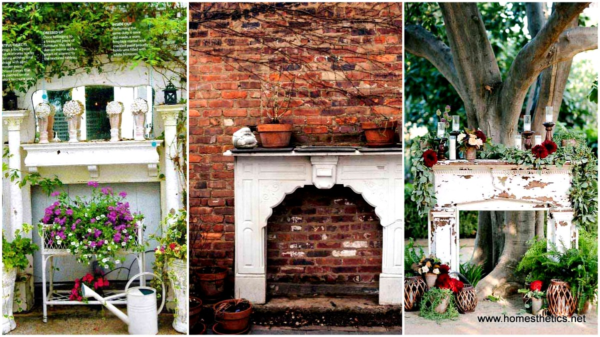 16 Simply Beautiful Ways to Decorate With Mantel Outdoors
