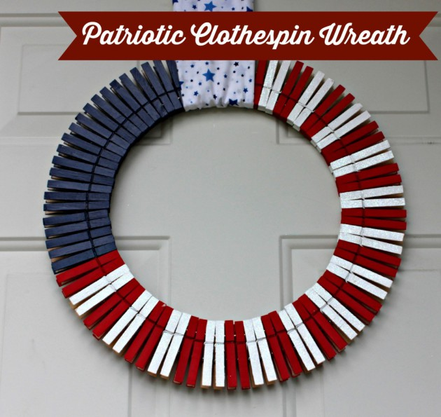 17 Patriotic DIY Wreath Ideas Ready to Welcome Guests Proudly homesthetics ideas (13)