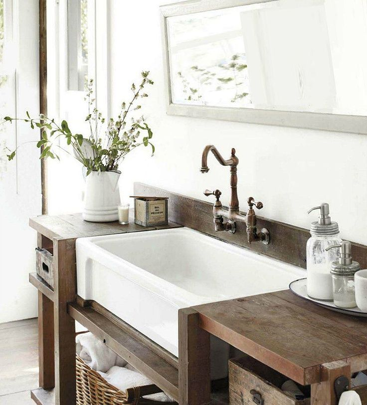 Natural Bathroom Design Ideas ~ Rustic and natural bathroom inspiration ideas