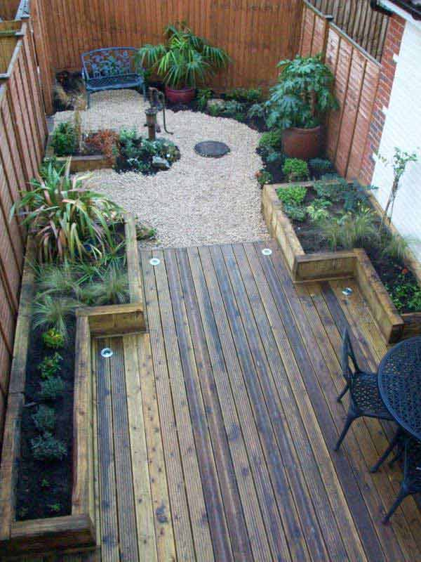 18 Beautifully Creative Landscaping Ideas For Narrow ... on Backyard Garden Design id=39711
