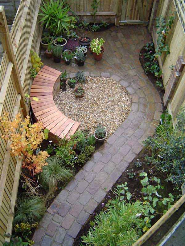 48 Beautifully Creative Landscaping Ideas For Narrow Outdoor Places Cool Backyard Design Landscaping Creative