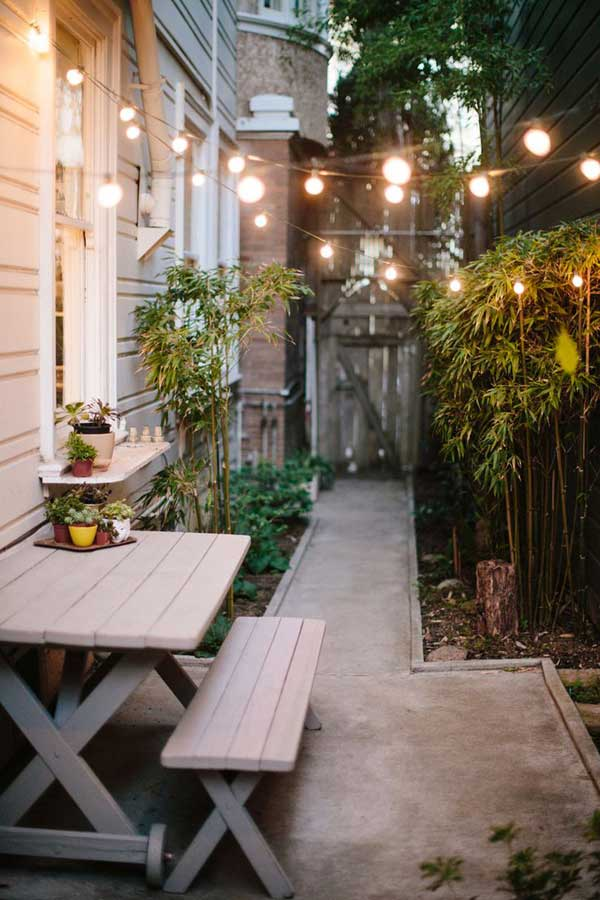 Outdoor Landscape Ideas For Small Spaces Part - 42: 18 Beautifully Creative Landscaping Ideas For Narrow Outdoor Places  Homesthetics Decor (4)