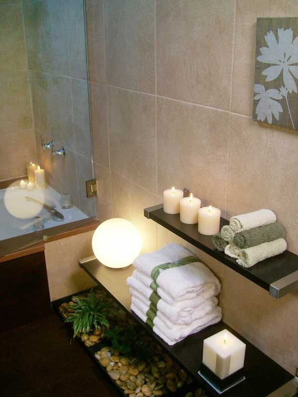 Genial 19 Extremely Beautiful Affordable Decor Ideas That Will Add The Spa Style  To Your Bathroom Homesthetics