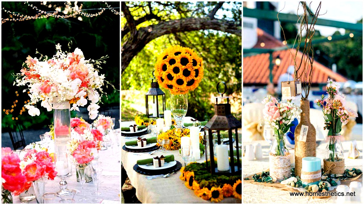 Wedding Ideas For Summer: 19 Splendid Summer Wedding Centerpiece Ideas That Will
