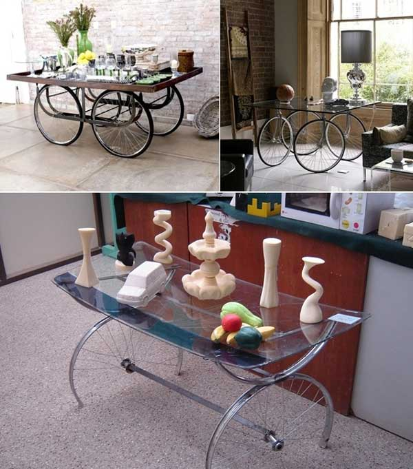 21 Awesomely Creative DIY Crafts Re-purposing Bike Rims  homesthetics upcycling projects (3)