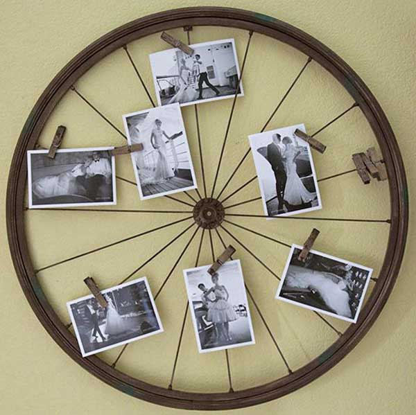 21 Awesomely Creative DIY Crafts Re-purposing Bike Rims  homesthetics upcycling projects (7)