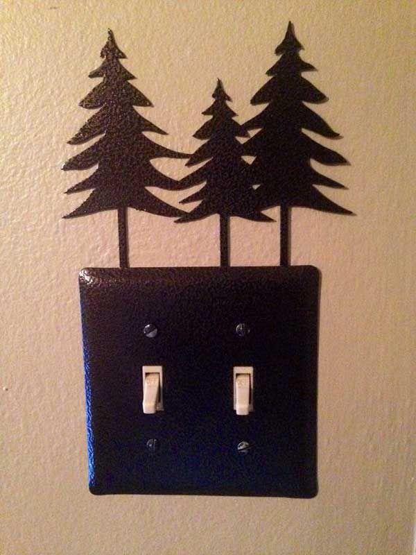 21 Unique Ways to Decorate Light Switches Plates In Contemporary Designs homesthetics decor (1)