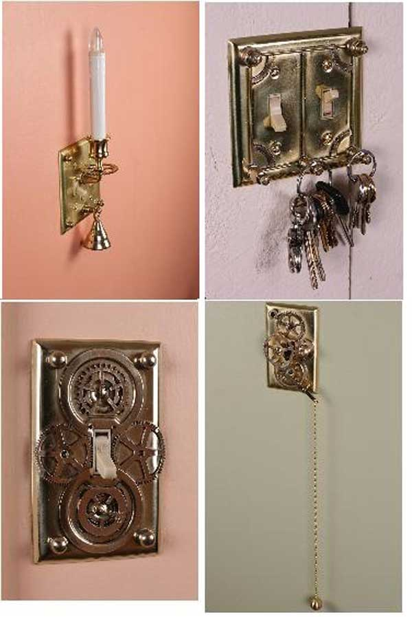 21 Unique Ways to Decorate Light Switches In Contemporary Designs homesthetics decor (20)