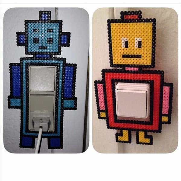 21 Unique Ways to Decorate Light Switches Plates In Contemporary Designs homesthetics decor (4)