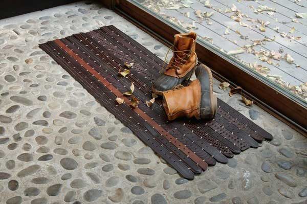 22 Ingenious Ways to Use Old Leather Belts in DIY Projects homesthetics decor (2)