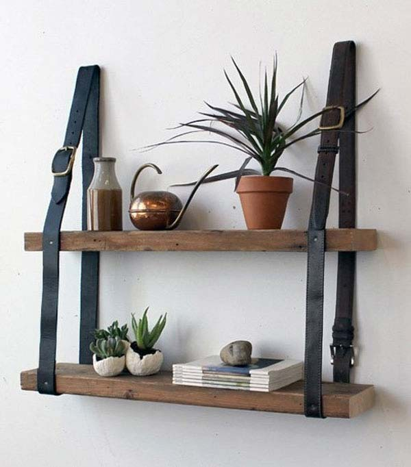 22 Ingenious Ways to Use Old Leather Belts in DIY Projects homesthetics decor (4)