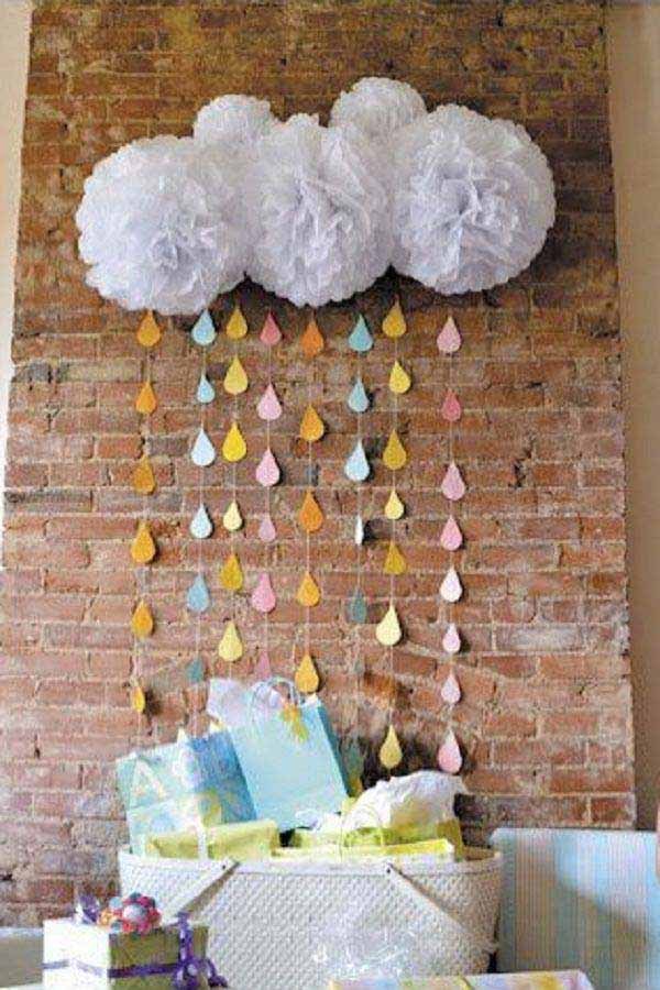 22 Insanely Cretive Low Cost DIY Decorating Ideas For Your Baby Shower Party homesthetics decor ideas (1)