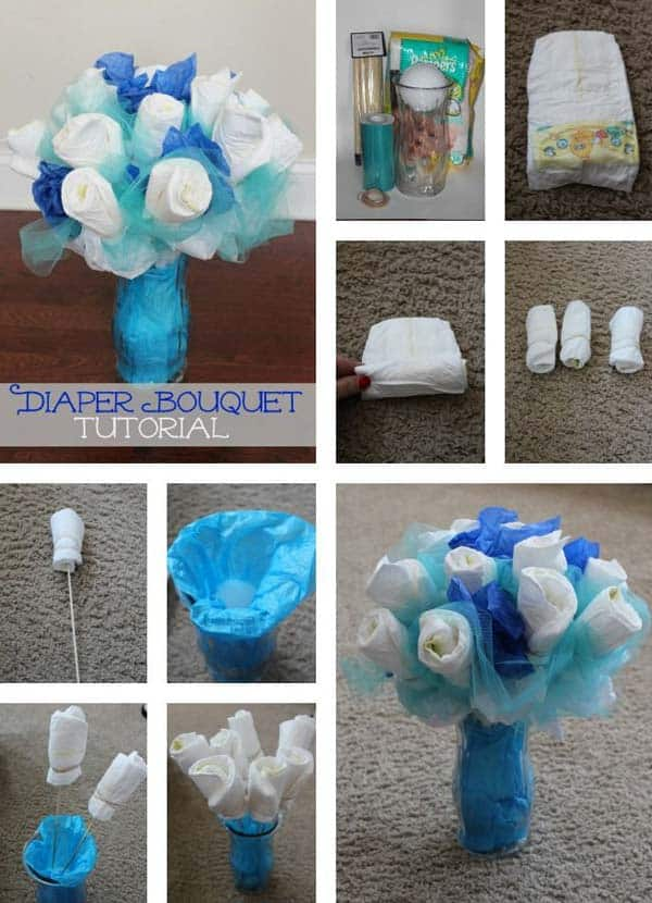 22 insanely cretive low cost diy decorating ideas for your for Baby clothesline decoration baby shower