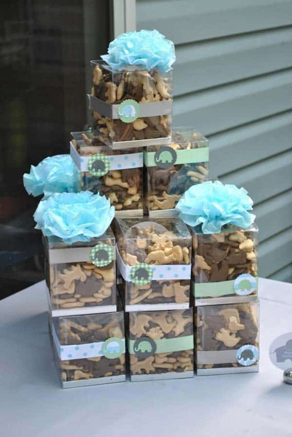 22 Insanely Cretive Low Cost DIY Decorating Ideas For Your Baby Shower Party homesthetics decor ideas (16)