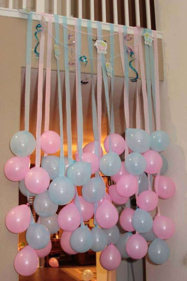 22 Insanely Cretive Low Cost DIY Decorating Ideas For Your Baby Shower Party homesthetics decor ideas (4)