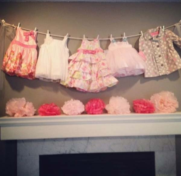 22 Insanely Cretive Low Cost DIY Decorating Ideas For Your Baby Shower Party homesthetics decor ideas (7)