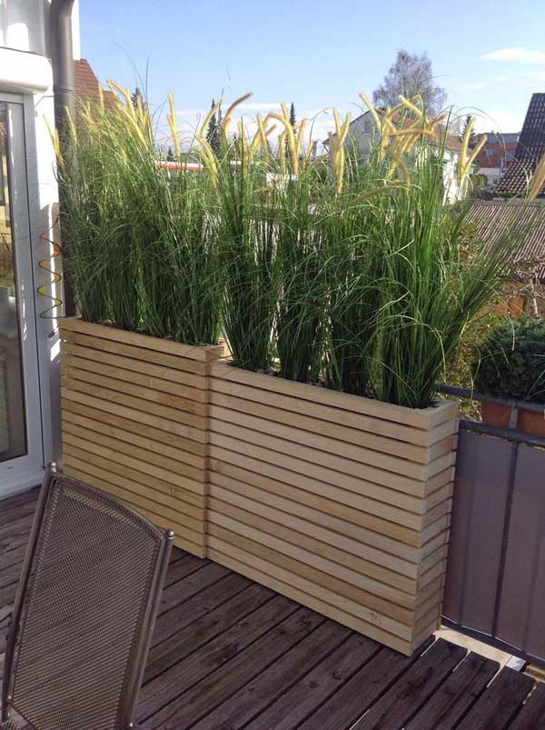 22 simply beautiful low budget privacy screens for your backyard - Idee terrasse ...