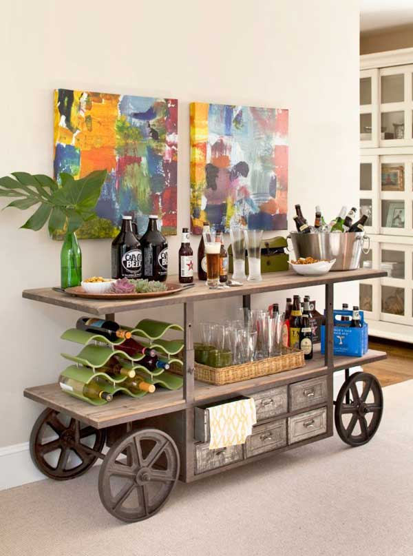 23 Clever DIY Industrial Furniture Projects Revolutionizing Mundane Design Lines homesthetics decor (13)