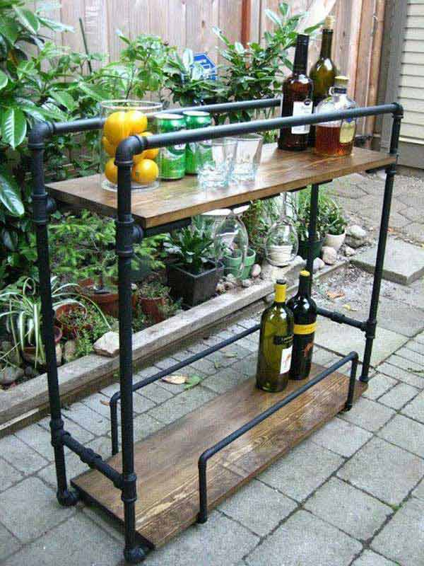 23 Clever DIY Industrial Furniture Projects Revolutionizing Mundane Design Lines homesthetics decor (8)