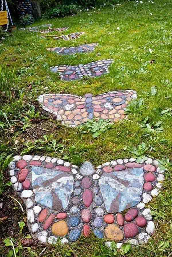 23 mesmerizing diy stepping stones to realize for your backyard 23 mesmerizing diy garden stepping stones to realize for your backyard homesthetics decor 21 workwithnaturefo