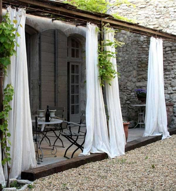 Outdoor Fabric Curtains Design Gallery