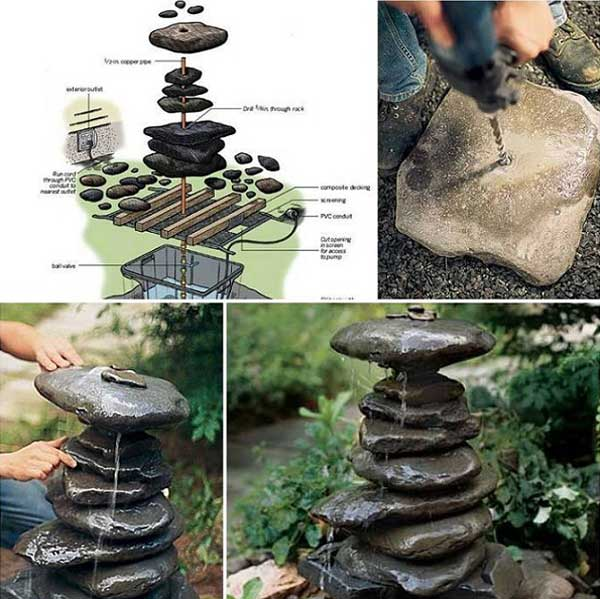 4. NEAT AND SIMPLE TO REALIZE ROCK FOUNTAIN