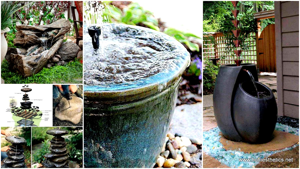 26 Wonderful Outdoor DIY Water Features Tutorials and Ideas ... on backyard gym ideas, backyard steps ideas, zen small backyard ideas, backyard gate ideas, backyard grotto ideas, backyard paving ideas, backyard stone ideas, backyard construction ideas, backyard bird bath ideas, backyard statue ideas, backyard lounge ideas, backyard outdoor shower ideas, backyard light ideas, backyard drainage ideas, backyard landscape ideas, backyard clubhouse ideas, backyard picnic area ideas, backyard bar ideas, backyard gardening ideas, backyard turf ideas,