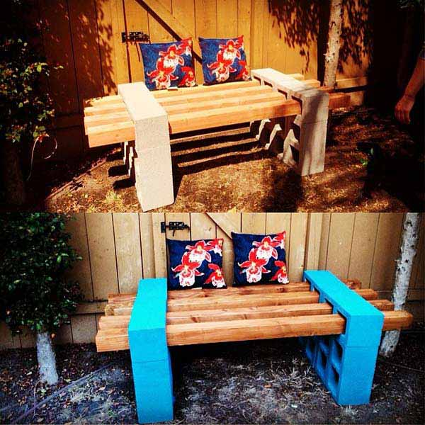 26 of The Worlds Best Outside Seating Ideas Design by Up-Cycling Items in DIY Projects homesthetics diy outdoor seating ideas (15)